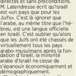 CIJA Letter in Journal de Montreal Takes Columnist to Task