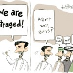 "National Post Cartoon on ""Iranian Outrage"" Behind Terrorist Plot"