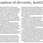 """Op-Ed: """"Israel Remains a Nation of Diversity, Hostility and Hope"""""""