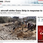 Success! CBC Amends Headline: Israeli Strikes Came in Response to Palestinian Rocketfire