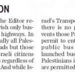 Toronto Star Issues Clarification: No Jewish-Only Roads or Buses