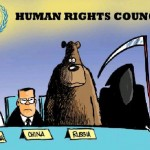 Sun Cartoon: UN Human Rights Council Composed of Human Rights Trangressors