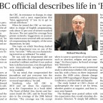 "CJN Coverage of HRC Event: ""Former CBC official describes life in 'Fort News"""