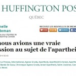 Hey, La Presse, Let's Have That Conversation About Apartheid