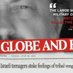 Globe Reporter Claims Israel Committed Collective Punishment Against Palestinians