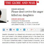 """Palestinian Doctor Claims Israel Committing """"Human Genocide"""" in Globe Op-Ed"""