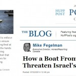 HRC Op-Ed in Huffington Post Canada: How a Boat From Gaza Could Threaten Israel's Security