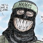 Calgary Herald Cartoon: Surely Hamas Will Observe a Ceasefire!