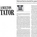 Hamilton Spectator Publishes Op-Ed Calling for Israel's Destruction