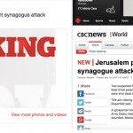 CBC Issues Tepid Statement of Regret for Disgraceful Headline of Jerusalem Terror Attack