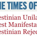 HRC Commentary in Times of Israel: Palestinian Unilateralism is Latest Manifestation of Palestinian Rejectionism