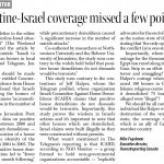 "HRC in the Telegram: ""Palestine-Israel Coverage Missed a Few Points"""