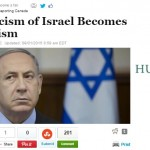"HRC in Huffington Post: ""When Criticism of Israel Becomes Anti-Semitism"""