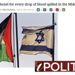 "HRC in IPolitics: ""Stop Blaming Israel for Every Drop of Blood Spilled in the Middle East"""
