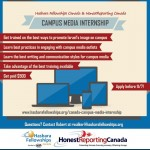 Sign Up Now For the Campus Media Internship!