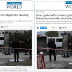 Toronto Star Amends Headline Mentioning that Palestinian Teen Attacked Israeli