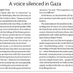 Hamilton Spectator Covers Hamas Press Repression in Gaza