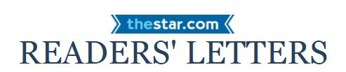"""""""A New Direction on Israel"""" Decries Toronto Star Letter Writers"""