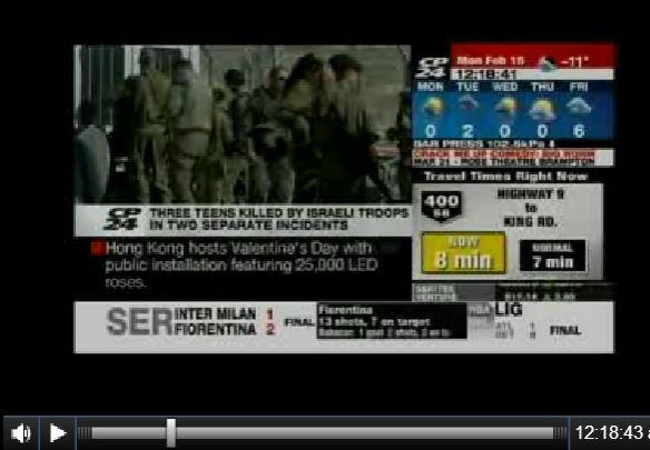 Toronto Star & CP24 Turn Palestinian Terrorists into ...
