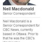 CBC Reporter Neil Macdonald Gratuitously Attacks Israel (Yet Again)
