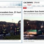 SUCCESS! HRC Prompts CBC To Acknowledge Jerusalem Bus Bombing