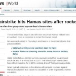 CBC Acknowledges Hamas Rocket Attacks After HRC Complaint