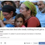 Globe and Mail Headline Sanitizes Palestinian Terror of Israeli Teen