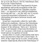 "HRC in the Winnipeg Free Press: ""The Prospect of Mideast Peace"""
