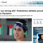 Complaint Filed: CBC Produces Biased Reporting of Palestinian Olympic Swimmer