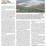 """Worth Reading: """"Israel: a Tiny Nation and World Leader in Desalination"""" C/O Chatham Daily News"""