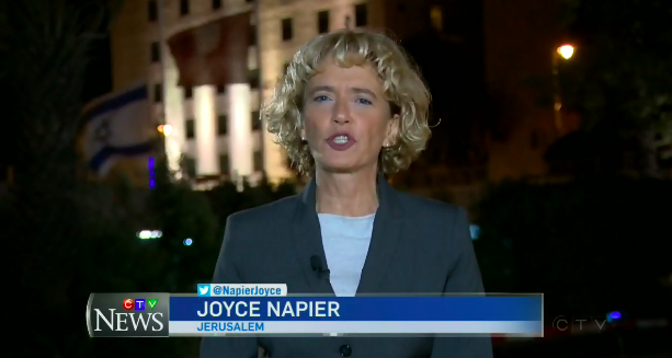 CTV National News Reporter Falsely Claims Israel Isn't Interested in Peace Talks with Palestinians