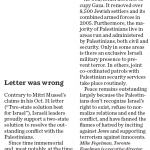 HRC in Regina Leader Post: Palestinians Still Don't Recognize Israel's Right to Exist