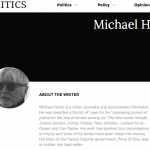 IPolitics Commentator Michael Harris Whitewashes UN Rapporteur Michael Lynk