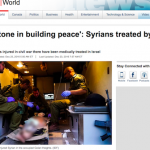 Exposing Excellence: CBC Reporter Covers Israeli Medical Aid to Thousands of Syrians