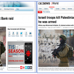 HRC Prompts CBC to Amend Misleading Headline to Mention that Palestinian was Armed