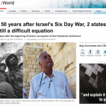 CBC's Myopic Coverage of the 50th Anniversary of the Six Day War