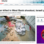 "ALARMING: CBC Caves to Pressure, Deletes Mention that Palestinian Terrorist was a ""Gunman"""