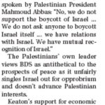 HRC in The PEI Guardian: BDS Doesn't Care About Tolerance