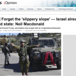Neil Macdonald's Apartheid Slur is Inflammatory and Unfounded
